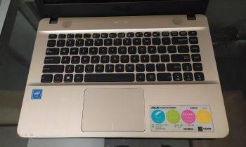 Jual laptop bekas asus x441na surabaya - 1
