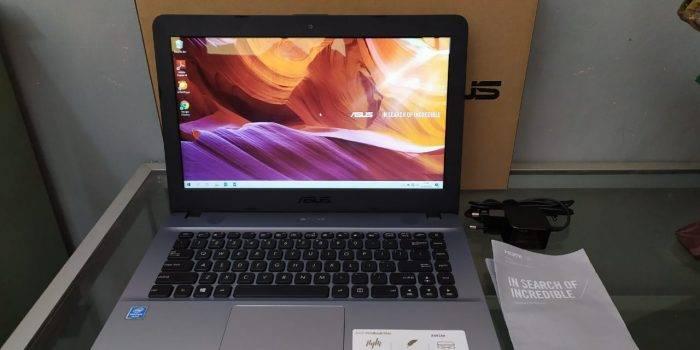 jual laptop bekas asus x441ma surabaya