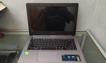 jual laptop gaming bekas asus x450cc surabaya
